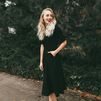 Collins Dress in Black