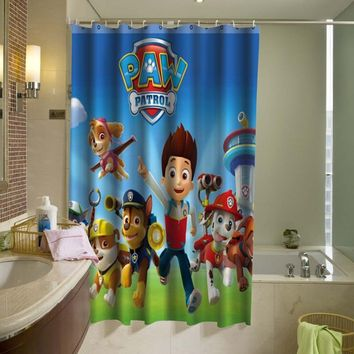 Paw Patrol Shower Curtain