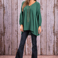 Into The Forest Top, Emerald