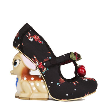 Irregular Choice Jambi Cherry Deer Heel