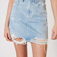 AGOLDE X UO Kat Denim Pencil Mini Skirt - Urban Outfitters