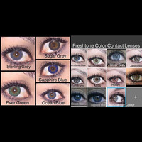 Freshtone Color Contact Lenses