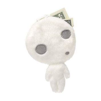 Kodama Zippered Coin Purse Plush from Princess Mononoke, 6-inch - By GUND