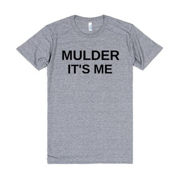 MULDER IT'S ME FUNNY X FILES SHIRT