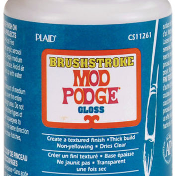 mod podge gloss brushstroke - 8 oz.