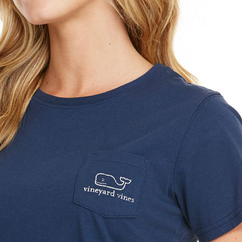 Short-Sleeve Whale Pocket Tee
