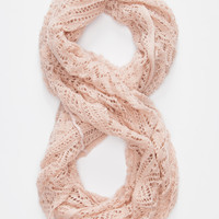 Open Knit Infinity Scarf | Scarves