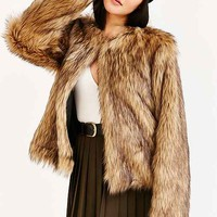 Numph Gitte Faux Fur Jacket
