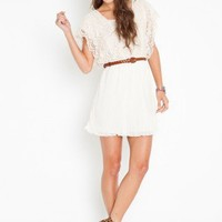 Calla Crochet Dress - NASTY GAL