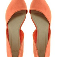 ASOS LINK Pointed Ballet Flats at asos.com