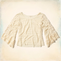 County Line Lace Top