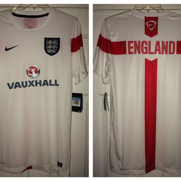 Sale!! Vintage Nike ENGLAND National Team Training Soccer Jersey Football Shirt