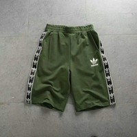 Adidas Knitted sports elastic and breathable casual shorts for girls and boys