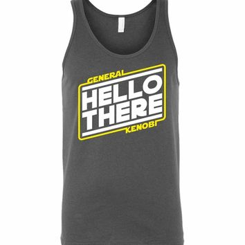Hello There Unisex Tank Top