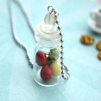 apples in a jar necklace