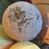 Bath Bomb - Lavender, all natural bath fizzie