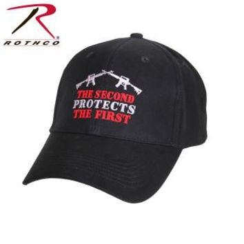 2nd Protects 1st Deluxe Low Profile Cap