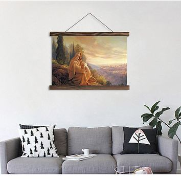 Quiet Evening Print On Canvas For Wall Decor