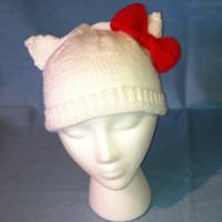 Sweet Knit Hello Kitty Hat