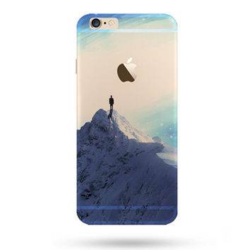 Beautiful Snowy Mountains iPhone 5S 6 6S Plus Case + Gift Box-127