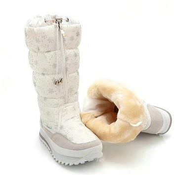 New Winter boots Snow Boots plush Warm shoes for women