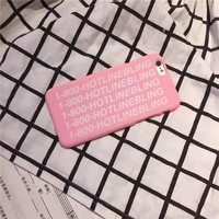 Hot Deal Stylish On Sale Hot Sale Iphone 6/6s Cute Pink Alphabet Phone Case [6034154561]