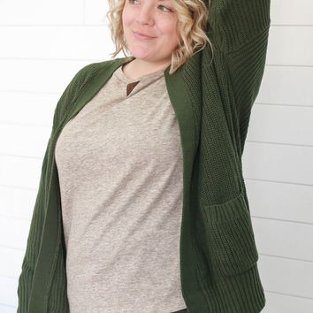 I Need This Cardigan + Olive