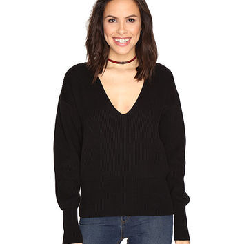 Free People Allure Pullover Black - Zappos.com Free Shipping BOTH Ways