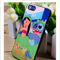 Lilo and stitch dancing iPhone for 4 5 5c 6 Plus Case, Samsung Galaxy for S3 S4 S5 Note 3 4 Case, iPod for 4 5 Case, HtC One for M7 M8 and Nexus Case