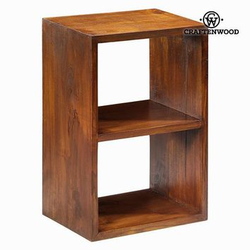 2-tier bookshelf - Serious Line Collection by Craften Wood