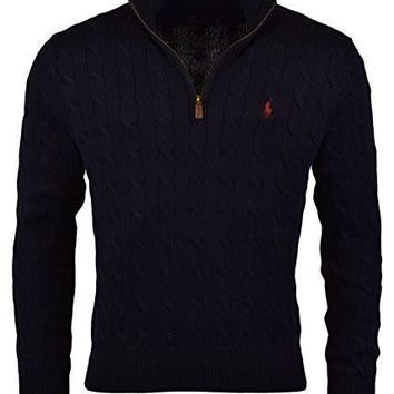 mens black polo sweater ralph lauren christmas sweaters