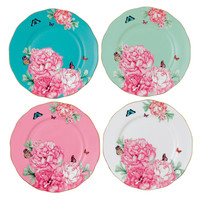 Miranda Kerr for Royal Albert Set of 4 Plates 20cm - WWRD Australia