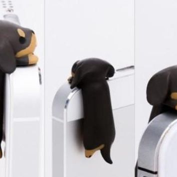 Cap cover for phones  - dachshund