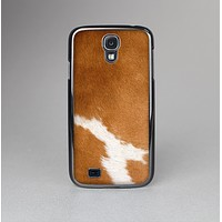 The Real Brown Cow Coat Texture Skin-Sert Case for the Samsung Galaxy S4