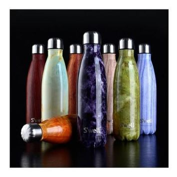 Outdoor Sports Water Bottle Bowling Cup  Stainless Steel  Vacuum Cup Creative Coke Bottle Dual Hot and Cold Vacuum Insulation Cup  [8323047937]