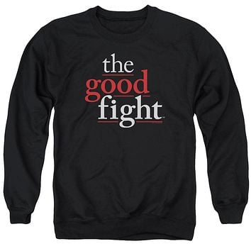 The Good Fight Sweatshirt Logo Black Pullover