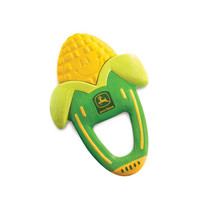 John Deere Infant's Massaging Corn Teether
