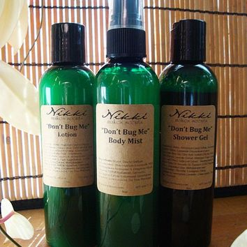 Don't Bug Me Bath and Body Set by nikkicandles on Etsy