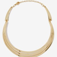 Just Tri Me Collar Necklace