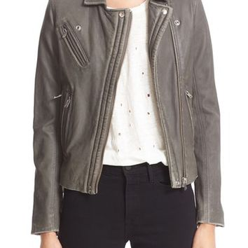 IRO Leather Moto Jacket | Nordstrom
