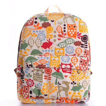 Korean Stylish Animal Fashion Backpack = 4887843716