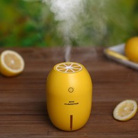 Lemon Creative Ultrasonic Humidifier Essential Oil Diffuser Aroma With Light Aromatherapy Electric Aroma Diffuser Mist Maker