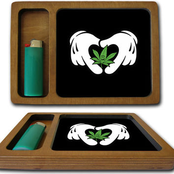 Rolling Weed Mickey Hands