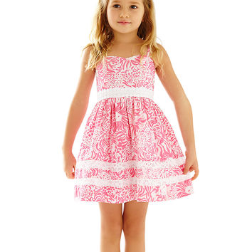 Lilly Pulitzer Girls Emme Fit & Flare Dress