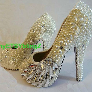 Shop Custom Bridal Shoes on Wanelo 3ccf557321