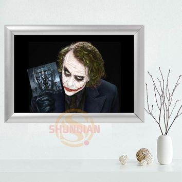 Custom Joker Canvas Frame Aluminum Alloy Painting Fabric Frame Home Decor Canvas Picture Frame YSJ#21
