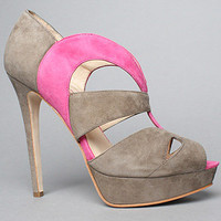 The Caurah Shoe in Gray and Pink by Boutique 9 Shoes | Karmaloop.com - Global Concrete Culture