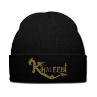 khaleesi snapback hat khaleesi knit hat beanie dragon snapback game of thorens