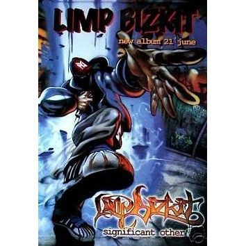 Limp Bizkit Poster Significant Other Rare Hot 24x36