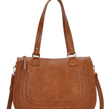 Twisted Fate Bag - Cognac